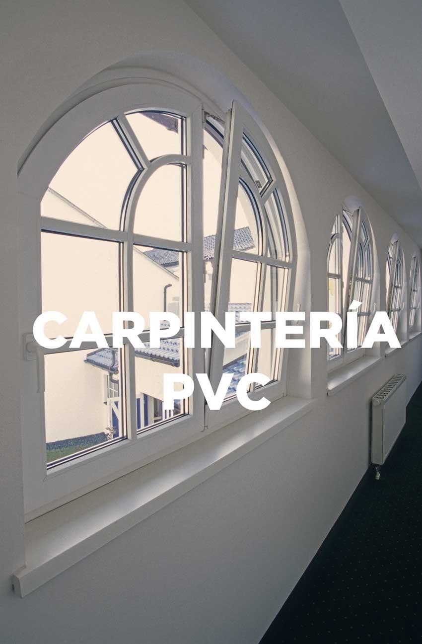 carpintería de pvc ventanas