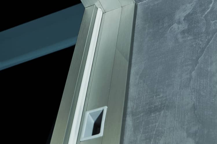 puerta pivotante ajuste muro