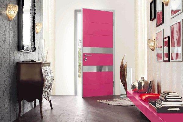puerta synua rosa